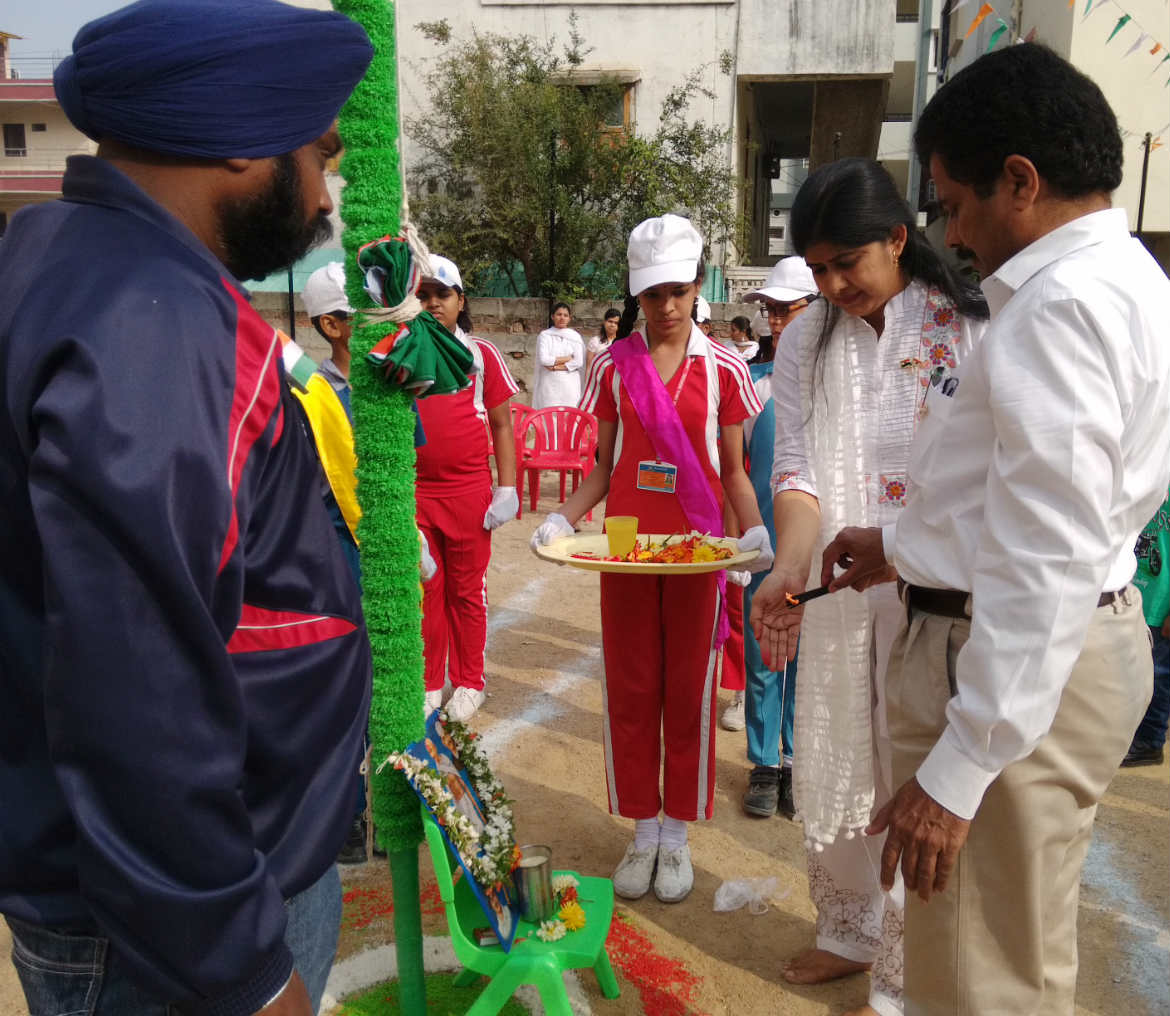 Independance day Celebrations at sanford Global school- miyapur