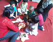 sensory play exercises at sanford global school